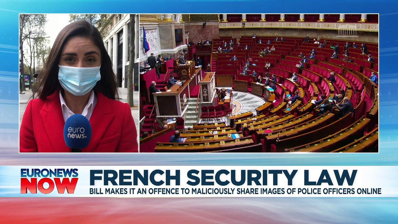French MPs pass controversial law that restricts images of police