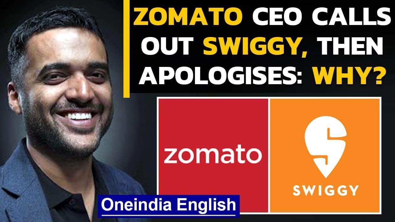 Zomato CEO's post calling out Swiggy goes viral, Mumbai police clarifies | Oneindia News