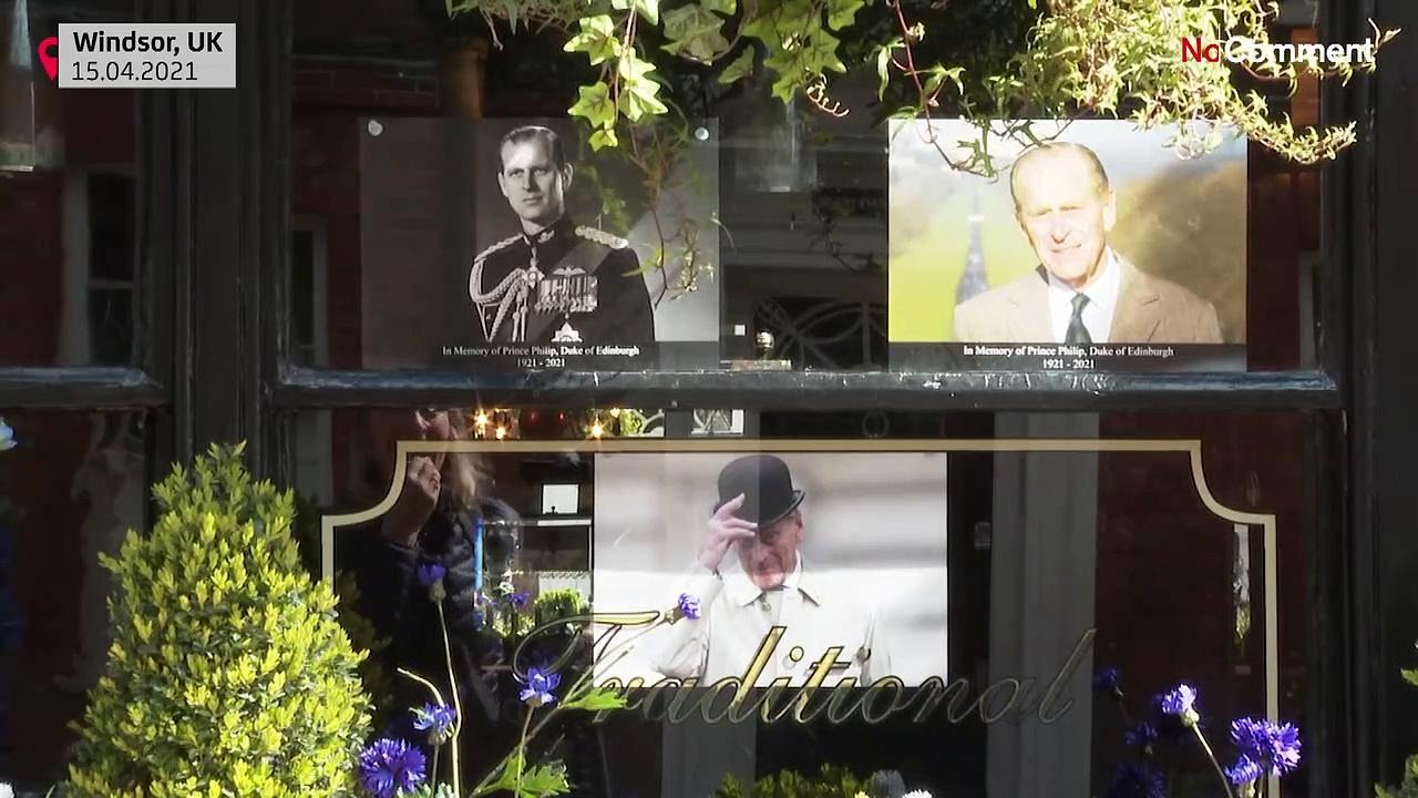 Preps at Windsor Castle for Prince Philip funeral