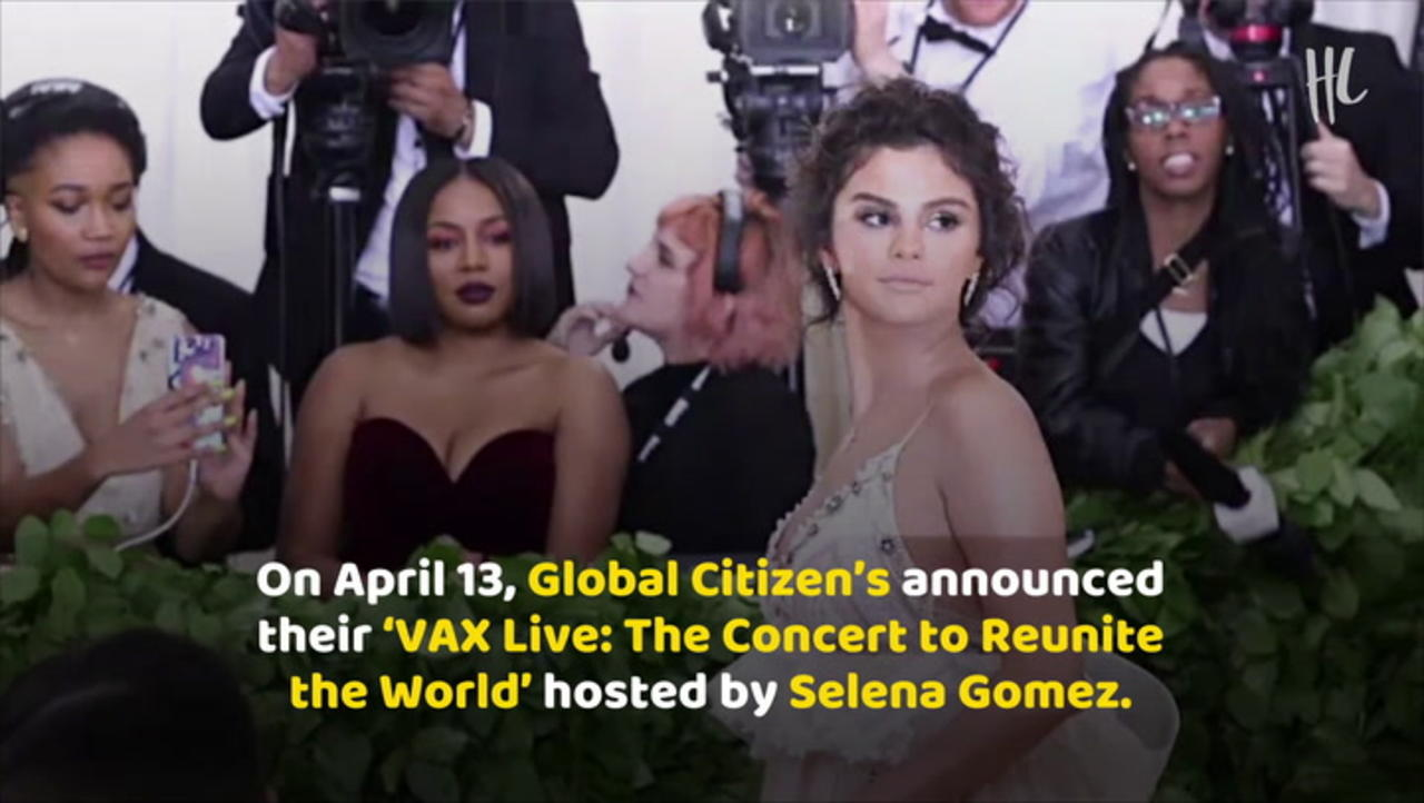 Selena Gomez To Host Global Citizen's 'Vax Live' Concert