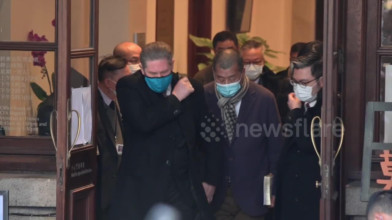 Hong Kong media tycoon Jimmy Lai to be sentenced