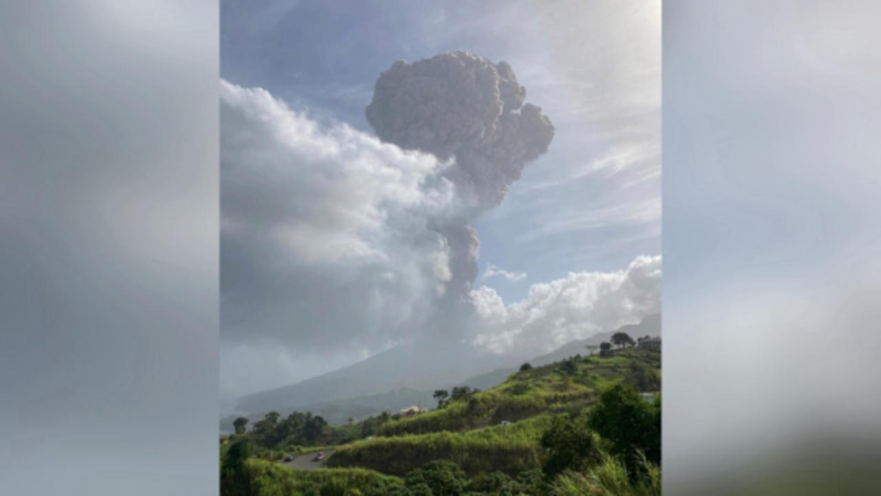 'Explosive' Volcanic Eruption on St. Vincent as Cruise Ships Race to Evacuate