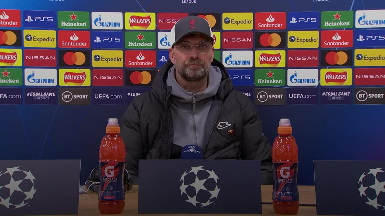 Jurgen Klopp rues missed chances as Liverpool knocked out of Champions League