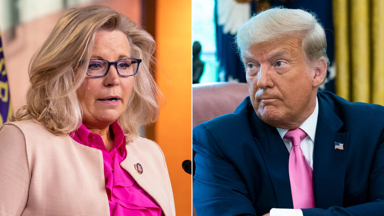 Liz Cheney says she won't support Donald Trump in 2024