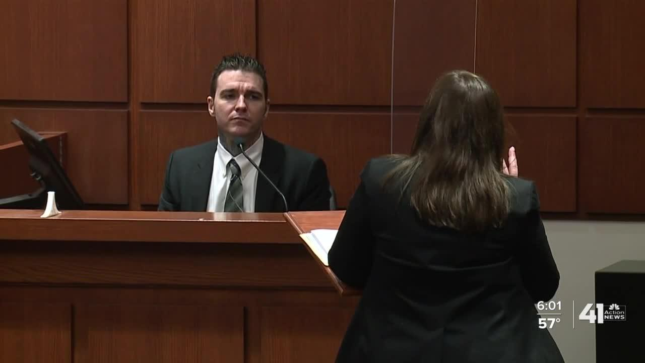 Kylr Yust takes the stand in day 9 of murder trial