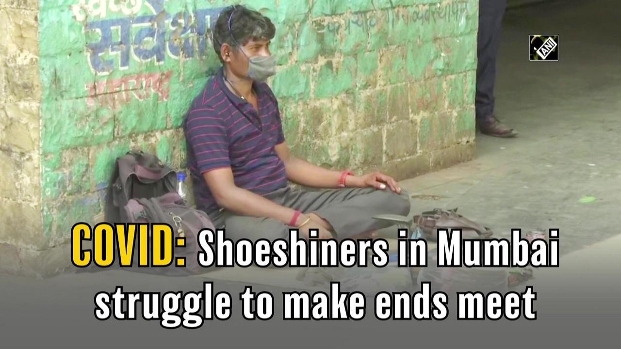 COVID: Shoeshiners in Mumbai struggle to make ends meet