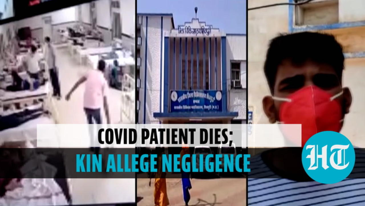 Covid patient in MP dies after a ward boy allegedly removes oxygen supply