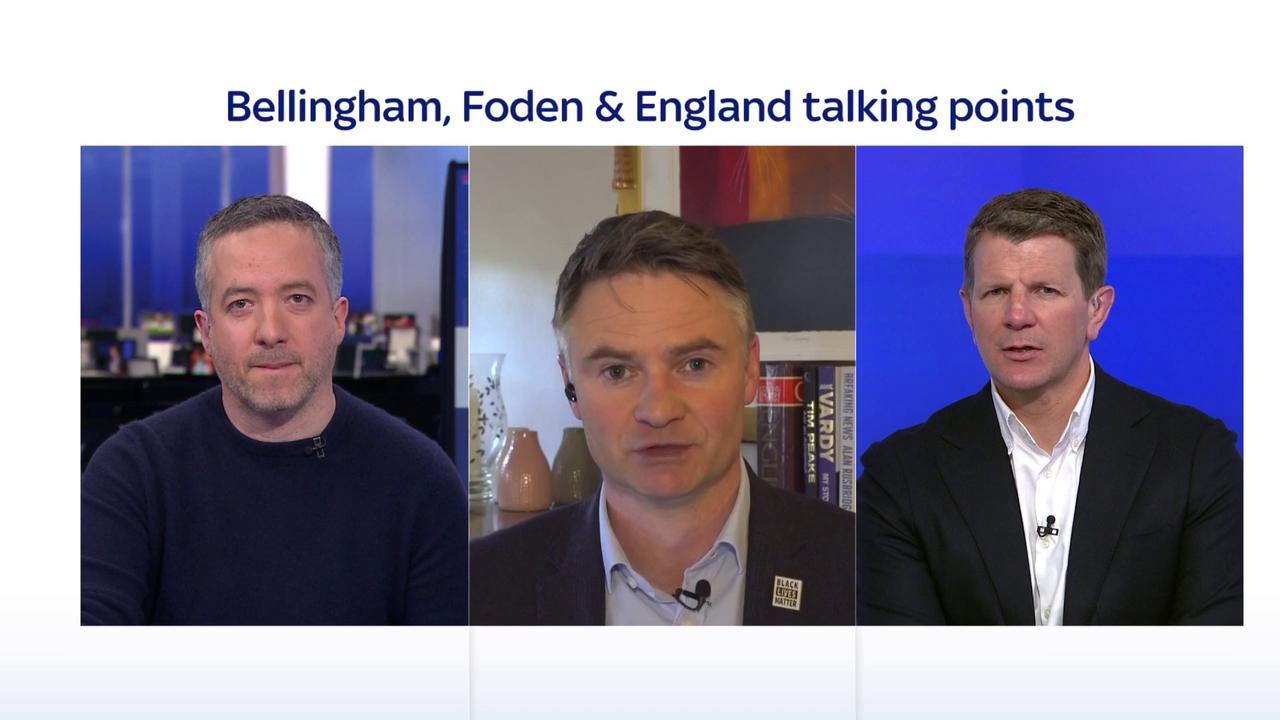Should Foden start for England at Euros?