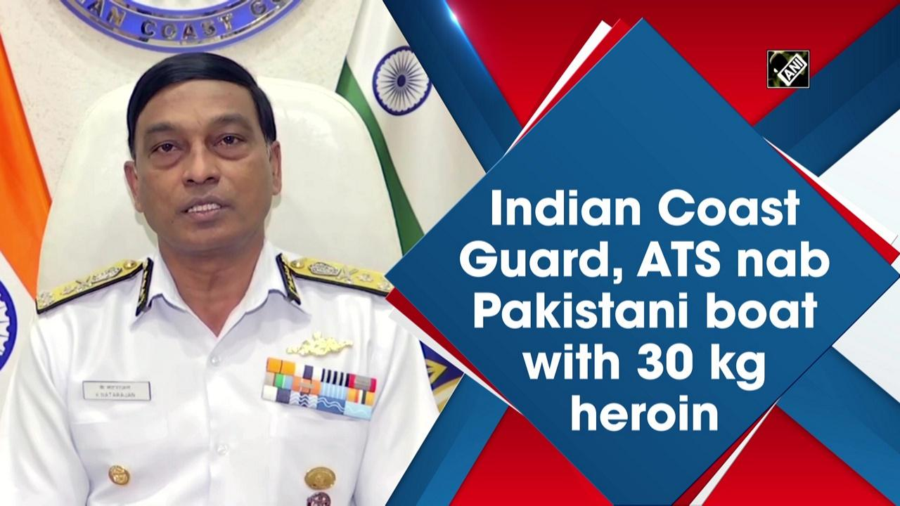 Indian Coast Guard, ATS nab Pakistani boat with 30 kg heroin