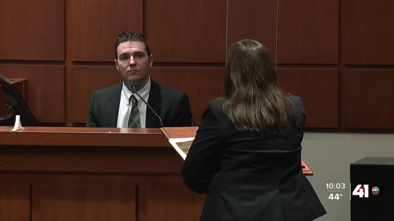 Kylr Yust takes stand in double murder trial