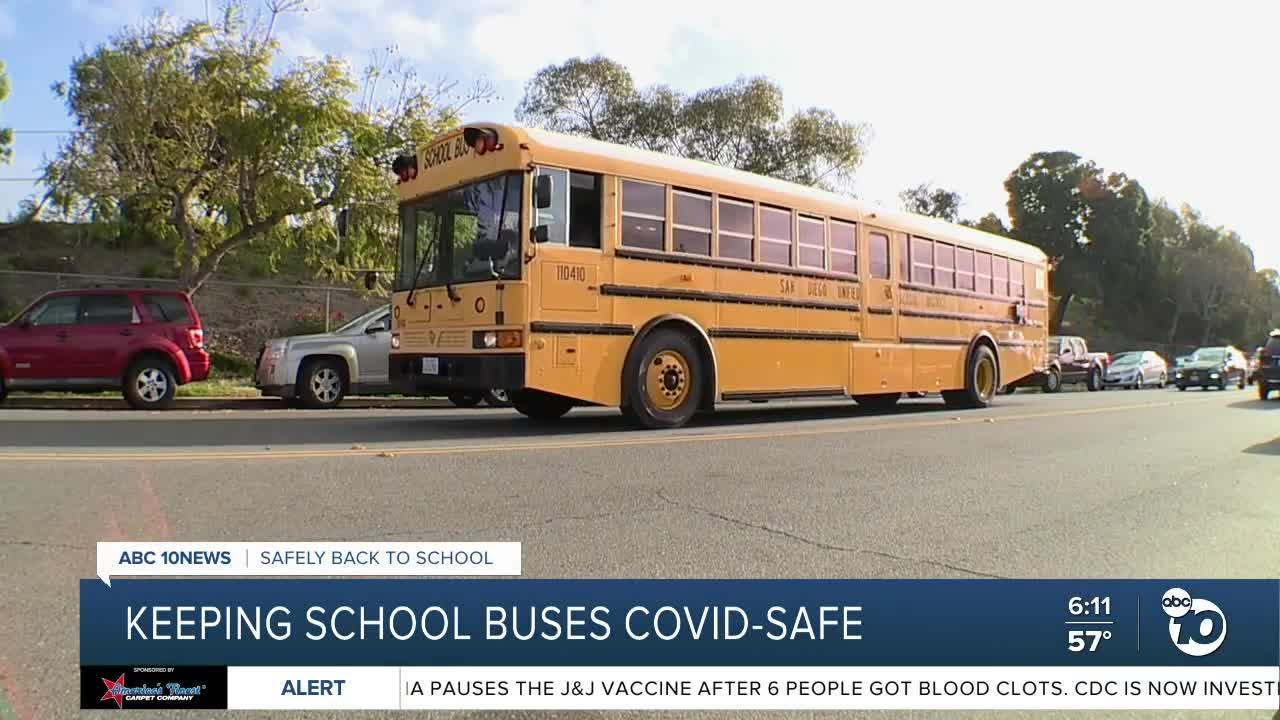 Keeping school buses safe from COVID-19