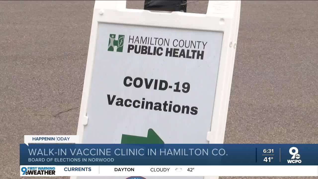 Walk-in vaccine clinic opens in Hamilton County