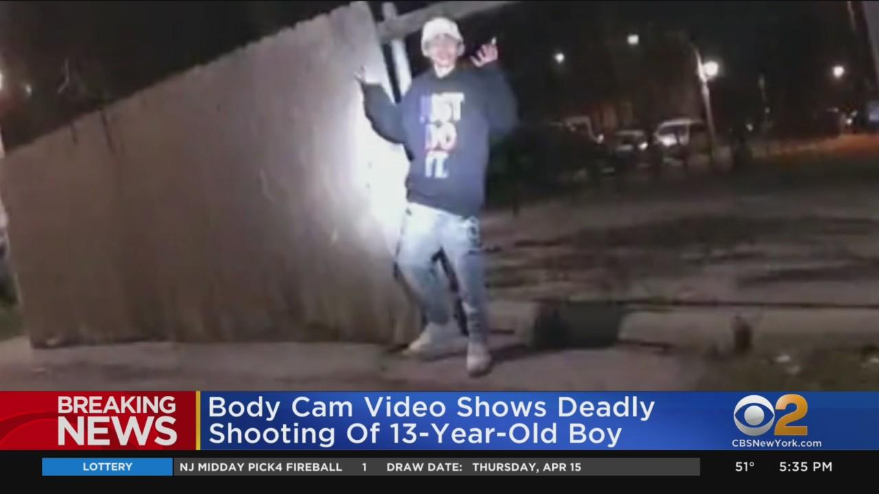 Body Cam Video Shows Deadly Shooting Of 13-Year-Old Boy In Chicago