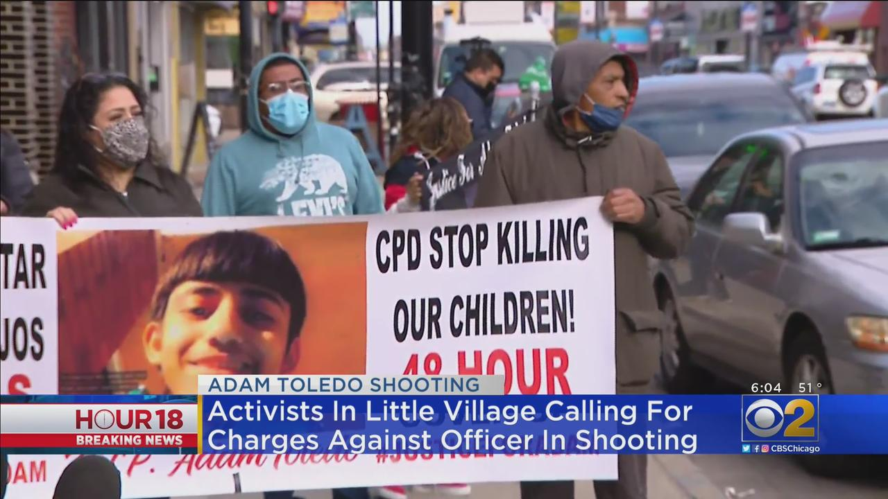Little Village Activists Call For Charges Against Officer In Adam Toledo Shooting