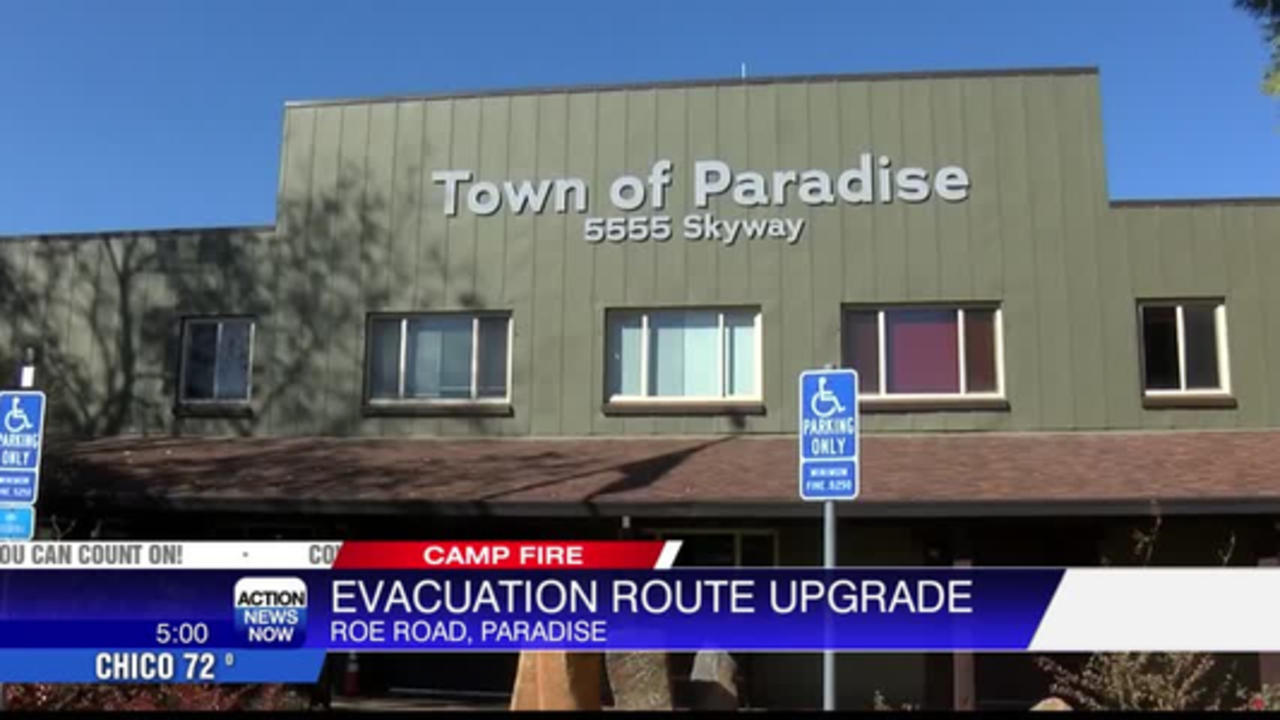 Paradise leaders seeking funding to help with road expansion, police department