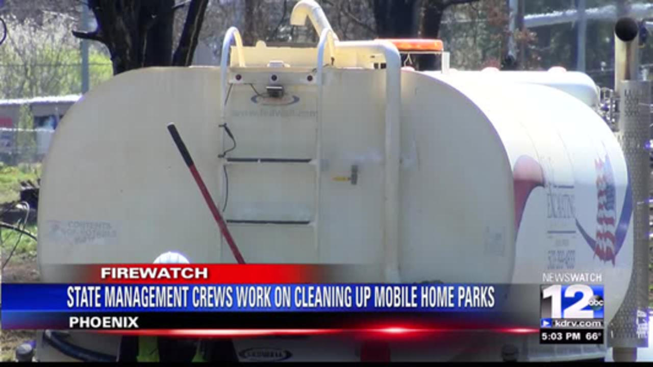 State management crews working on clearing Almeda corridor