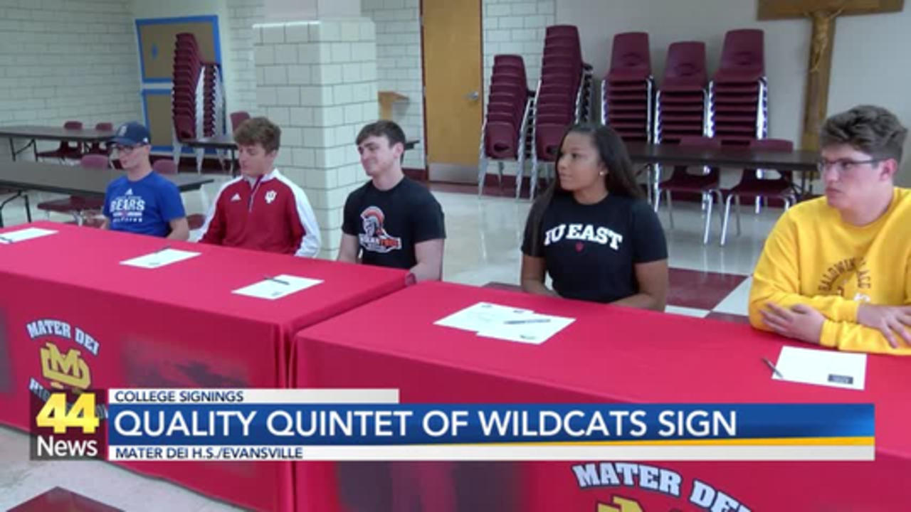 Quality Quintet Puts Pen to Paper on Mater Dei Signing Day