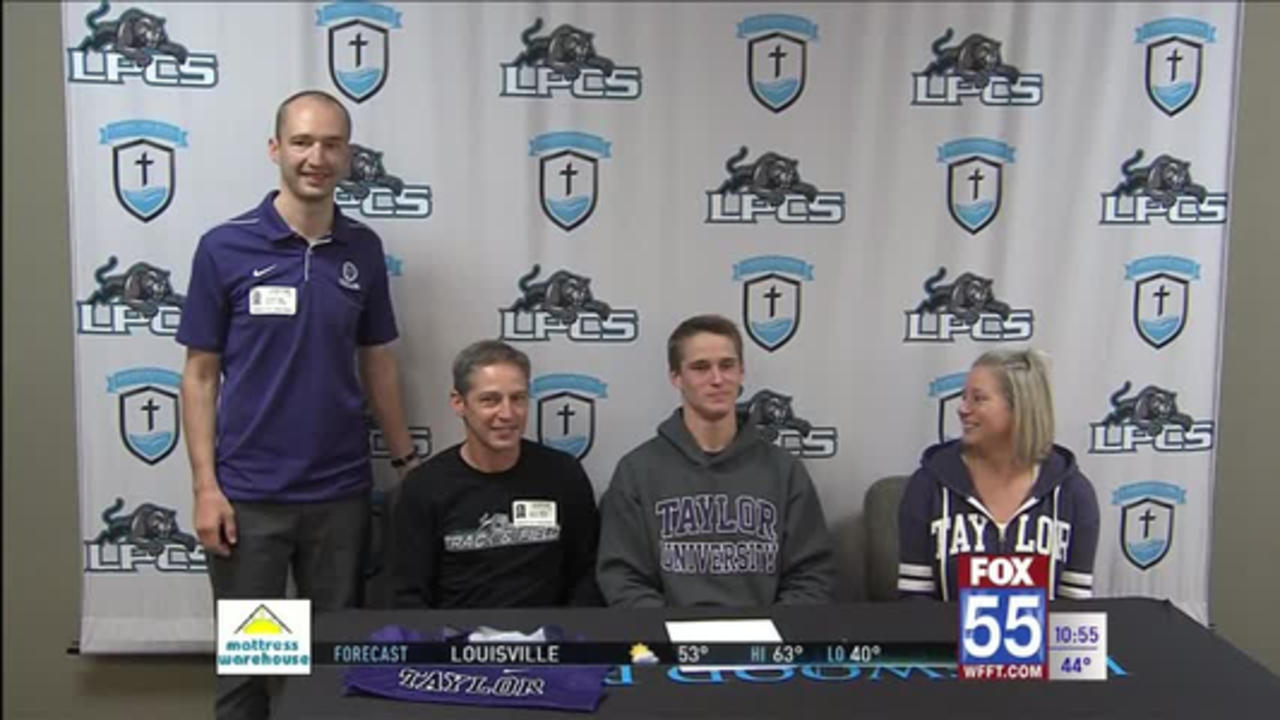 Lakewood Park's Colton White signs with Taylor
