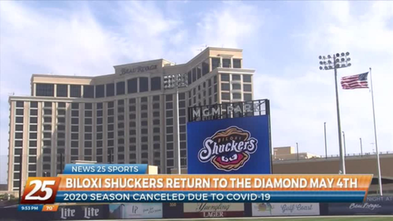 Biloxi Shuckers return to the diamond May 4th after 2020 season canceled due to COVID-19