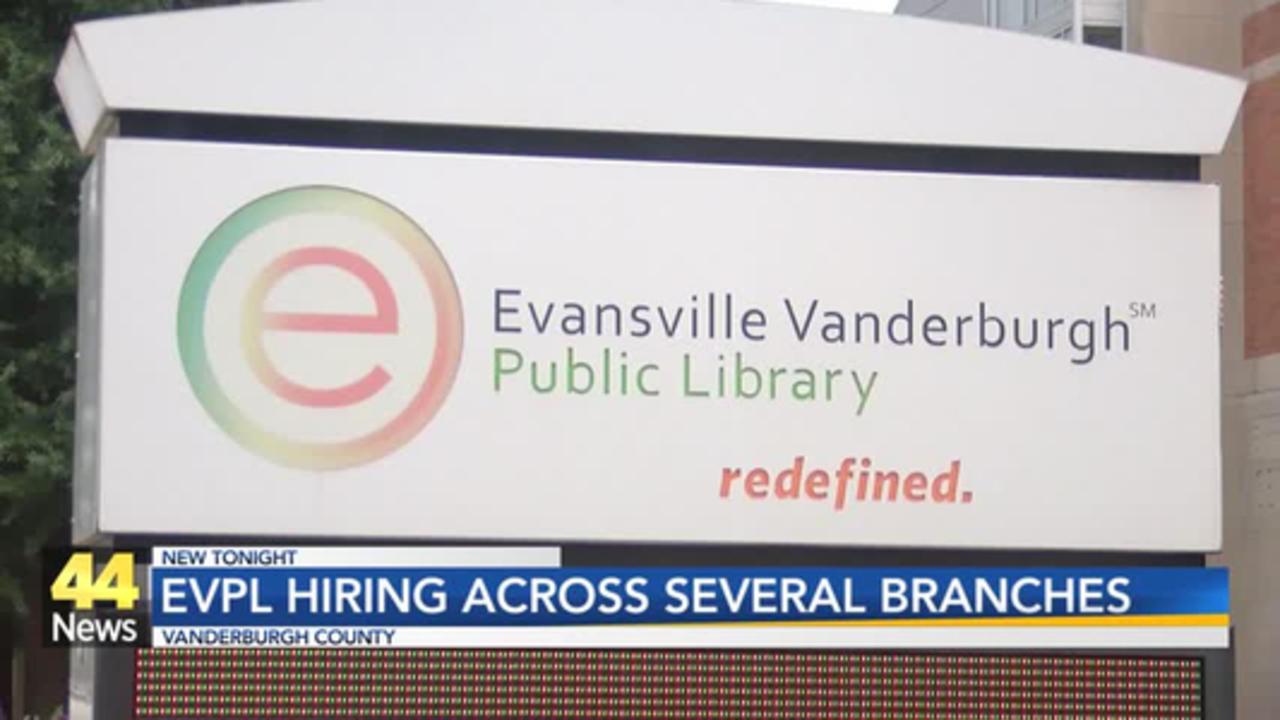 Evansville Vanderburgh Public Library Announces New Job Positions