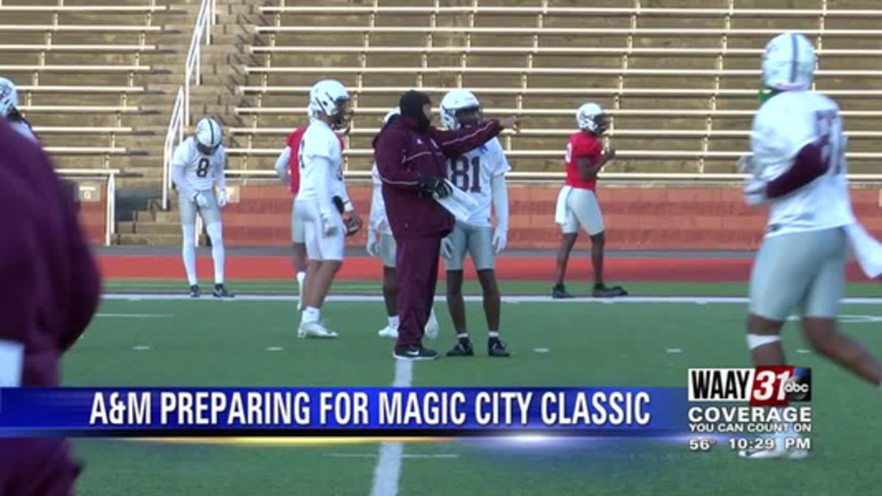 Bulldogs preparing for Magic City Classic