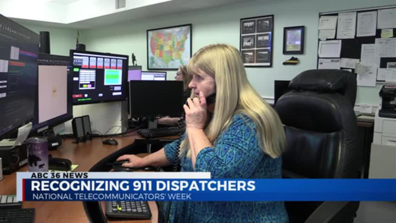 11pm Recognizing 911 Dispatcher 04.14.2021