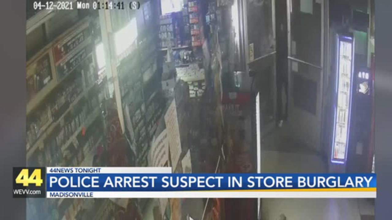 Madisonville Police make arrest in Pappy's burglary