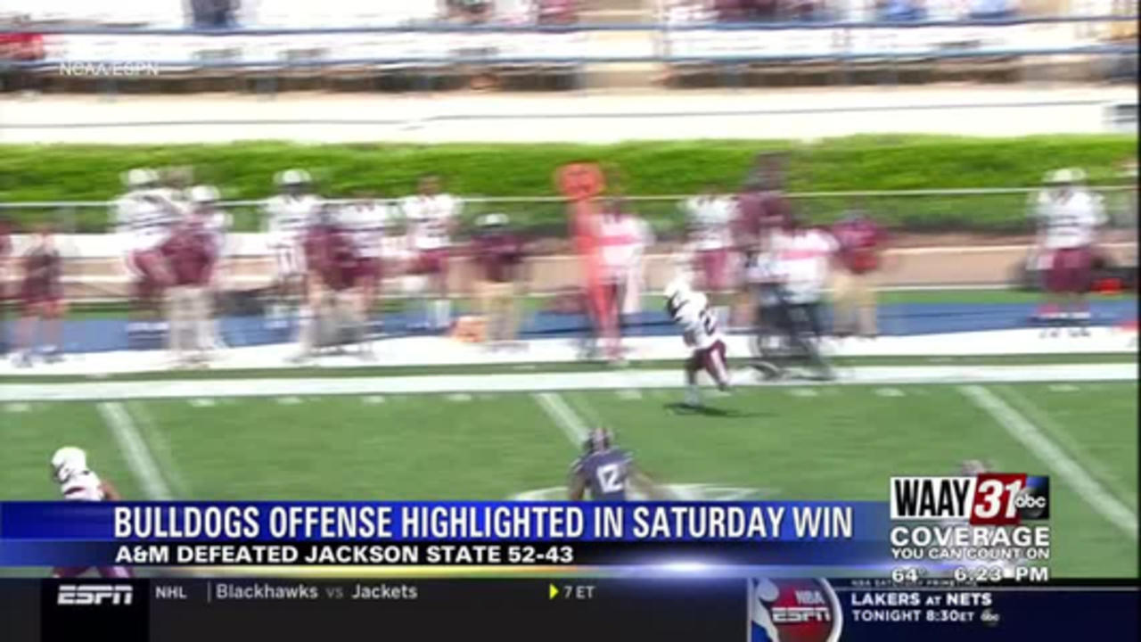 Bulldogs get recognition after big win