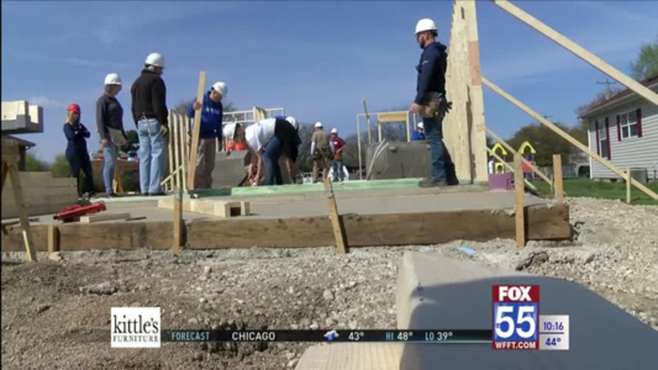 First local Habitat for Humanity home in 2021 to help Huntington single mother