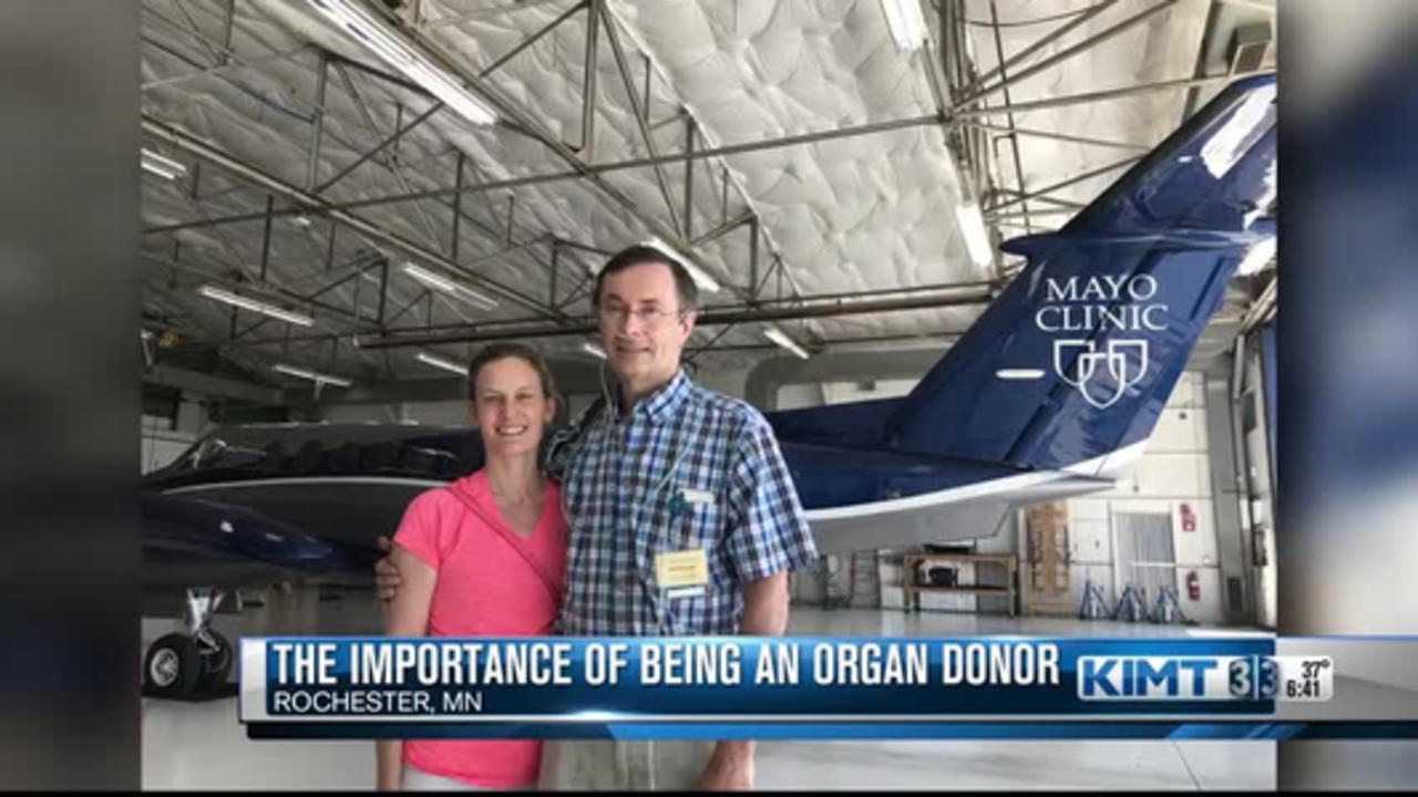 Mayo Clinic doctor stresses the importance of being an organ donor