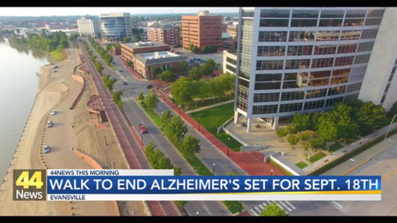 Walk to End Alzheimer's Returns to Downtown Evansville
