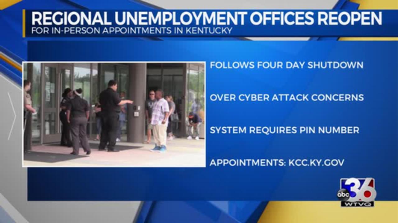 Regional Unemployment Offices Reopen