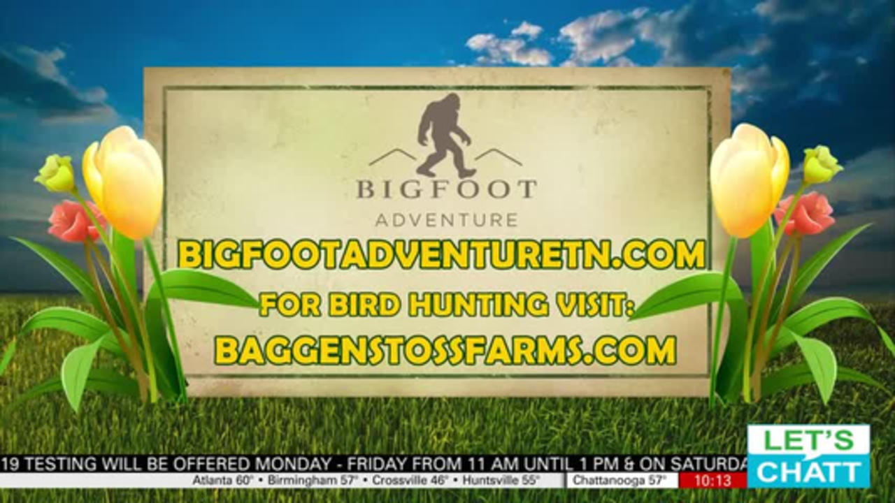 Looking for a great Spring Getaway but close to home?  Try Bigfoot Adventure
