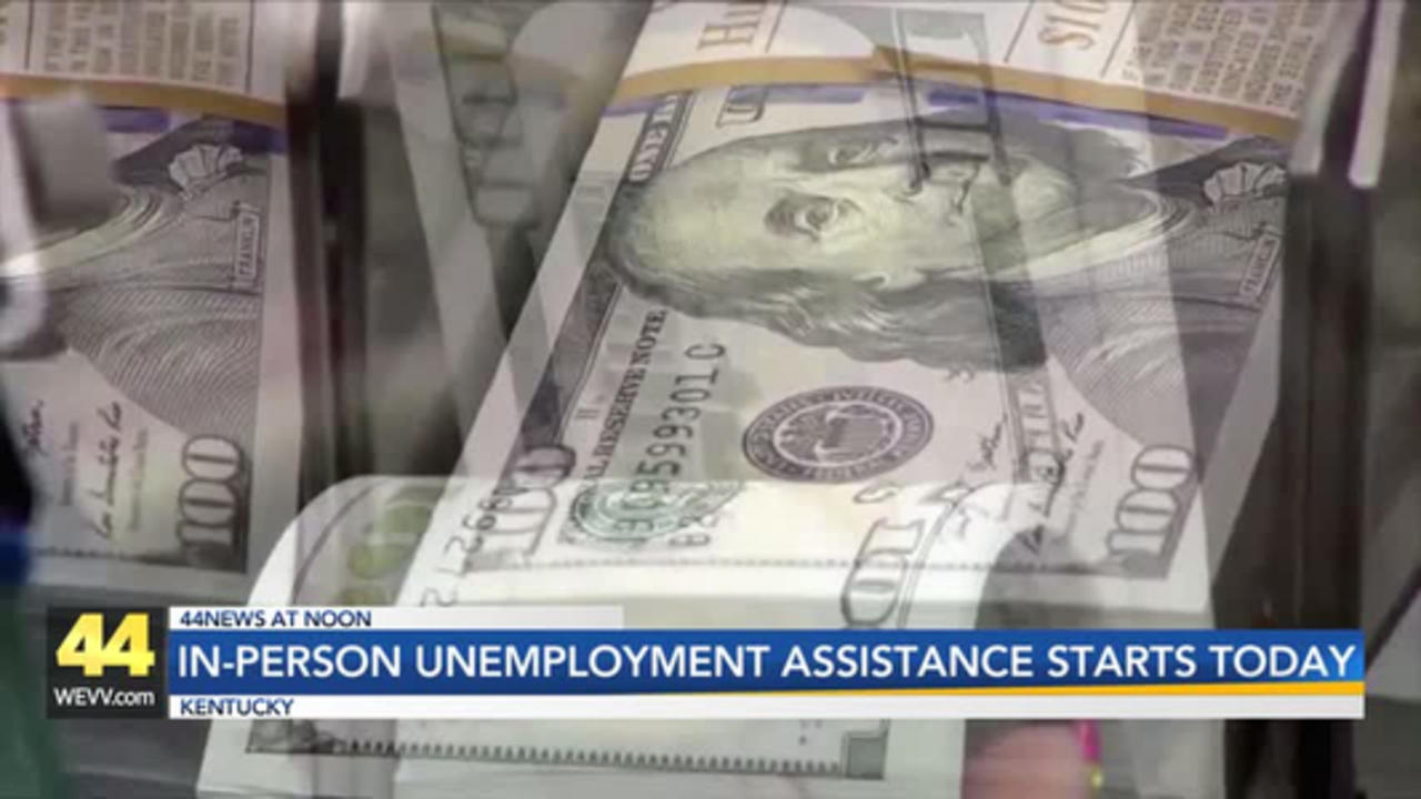 In-Person Unemployment Appointments Start Today in Kentucky
