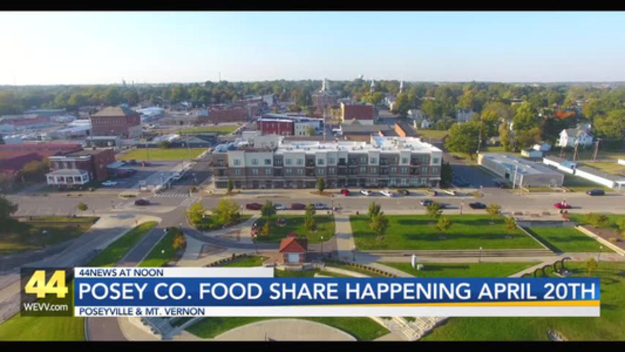 1,000 Free Food Boxes to be Distributed in Posey County
