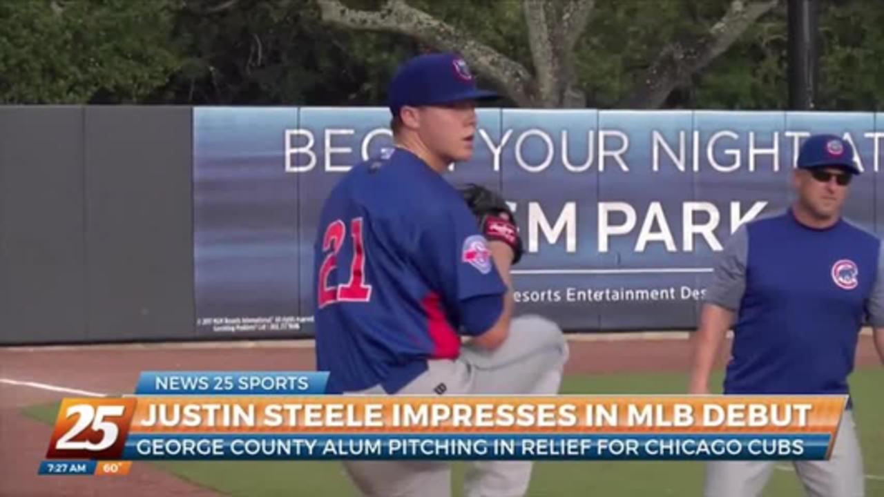 George County alum Justin Steele impresses in MLB debut