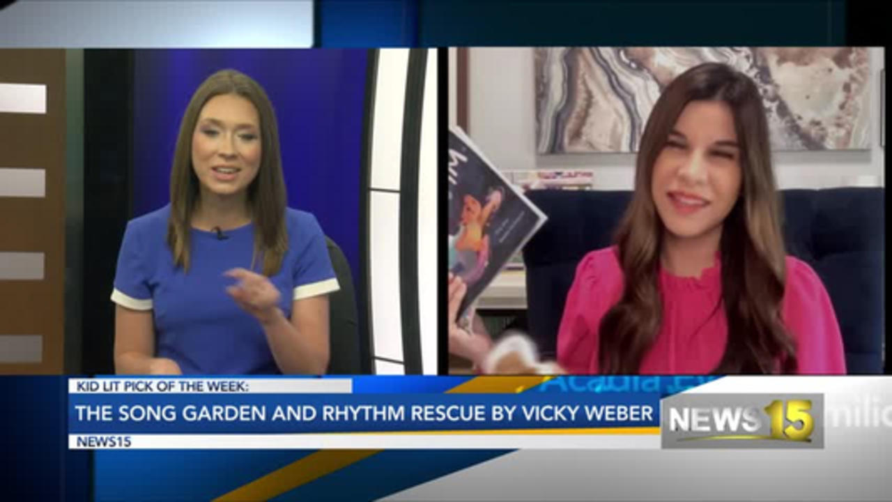Kid Lit Pick Of The Week: The Song Garden And Rhythm Rescue By Vicky Weber