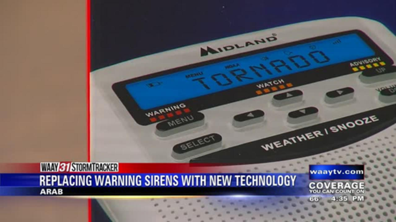 Officials discuss replacing warning sirens with new technology in Marshall County