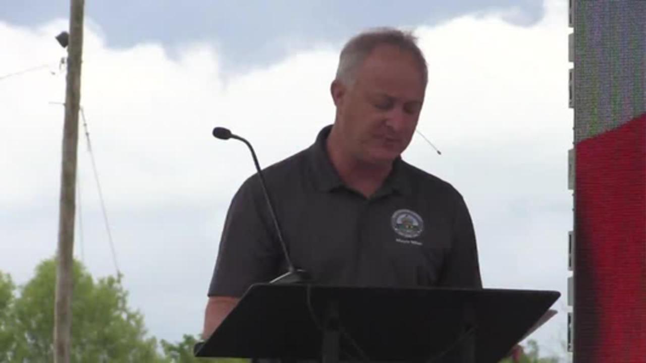 Mayor Lester Miller gives 'State of the Community' address