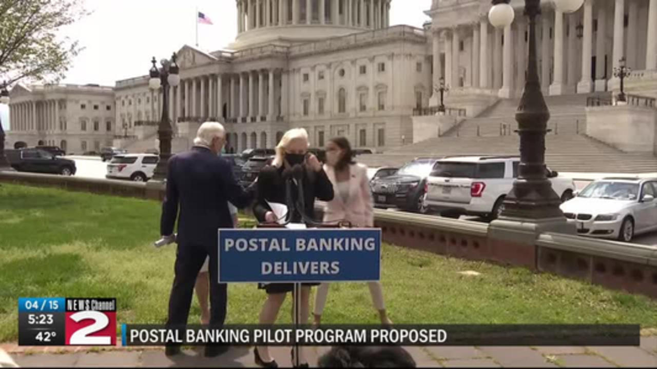 Gillibrand proposes postal banking