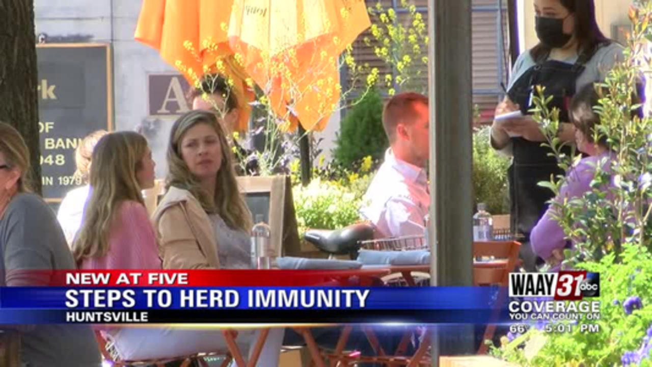 Steps to Herd Immunity