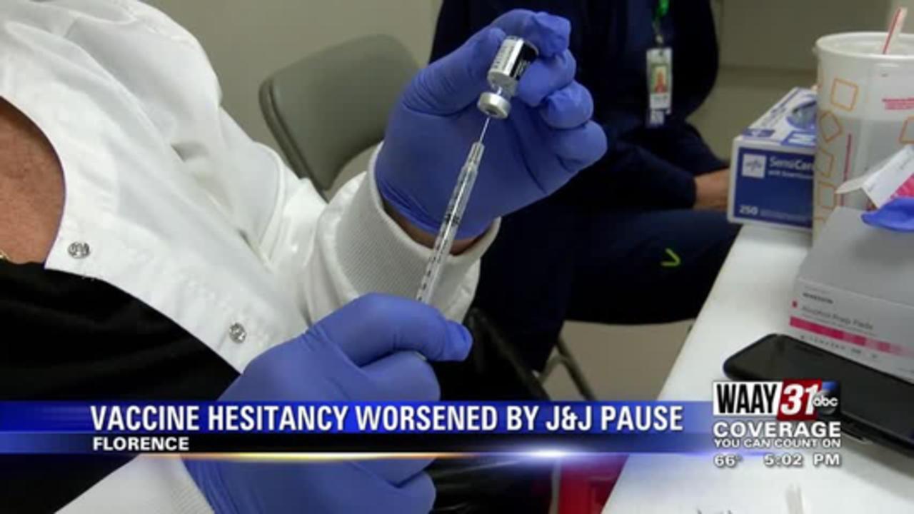 Vaccine Hesitancy Worsened by J&J Pause