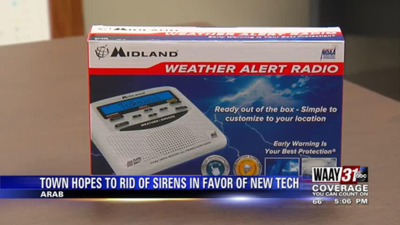 Town Hopes to Rid of Sirens in Favor of New Tech