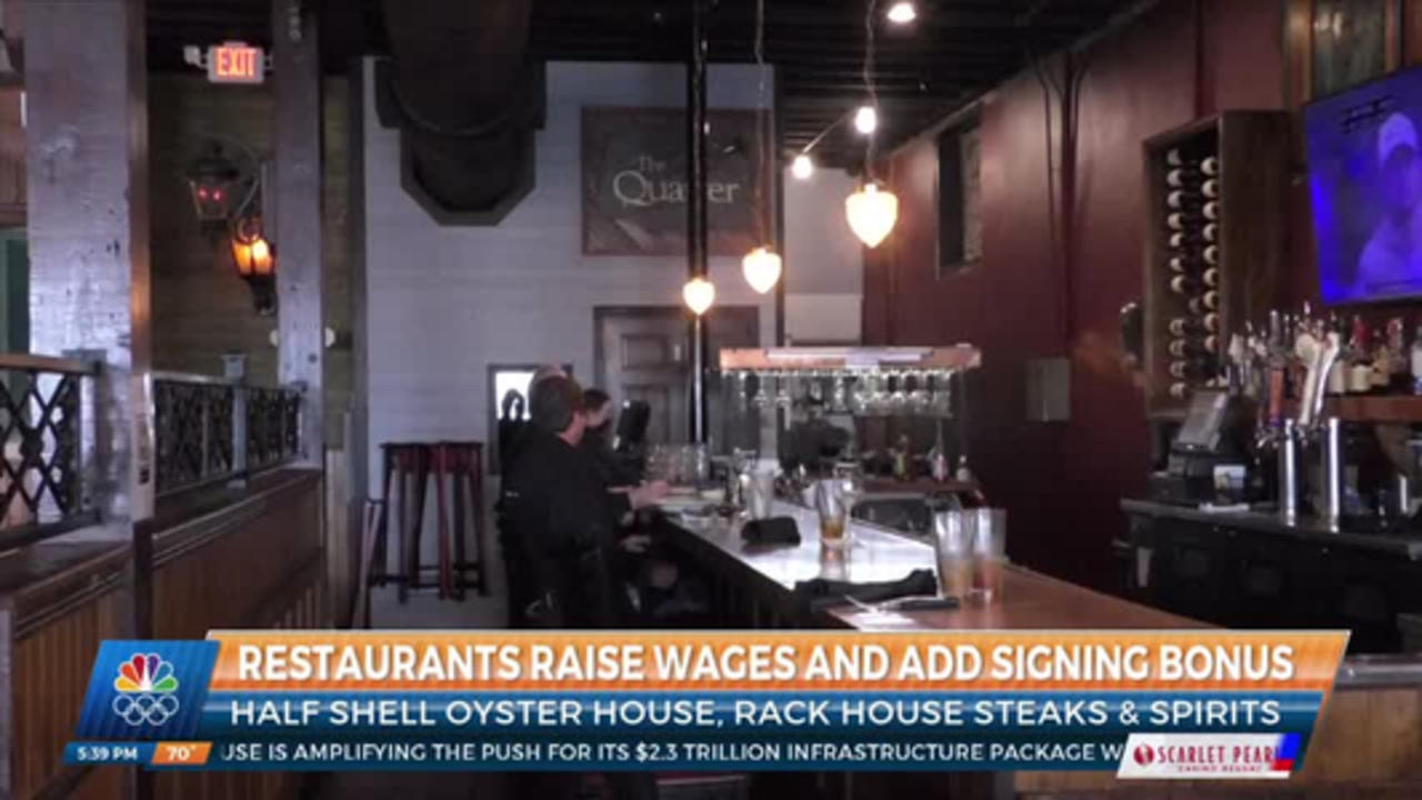 Half Shell Oyster House raises minimum wage for non-tipped employees
