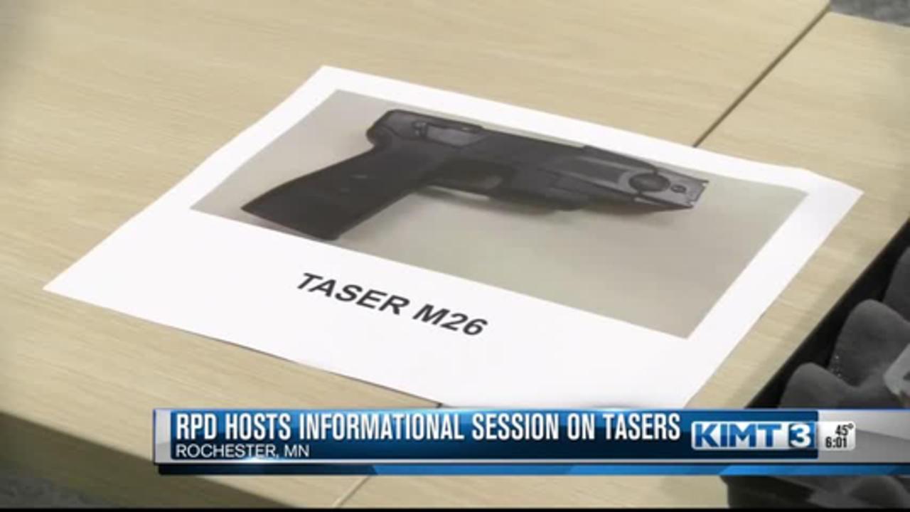 RPD hosts informational session on tasers