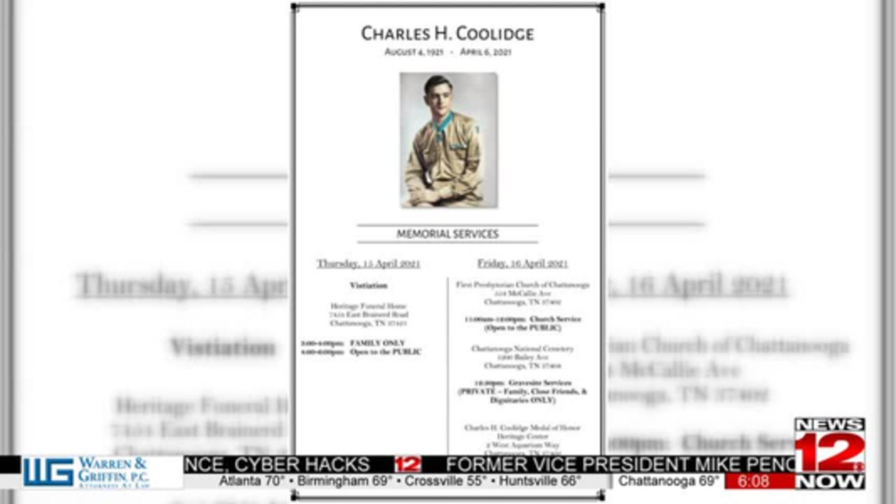Charles Coolidge celebration