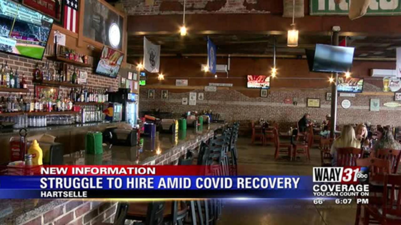 Struggle to Hire Amid Covid Recovery