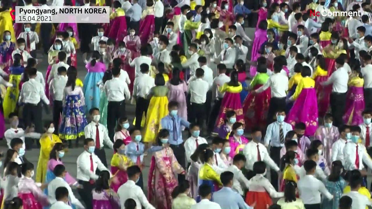 North Korea marks Kim Il Sung's birth with evening gala