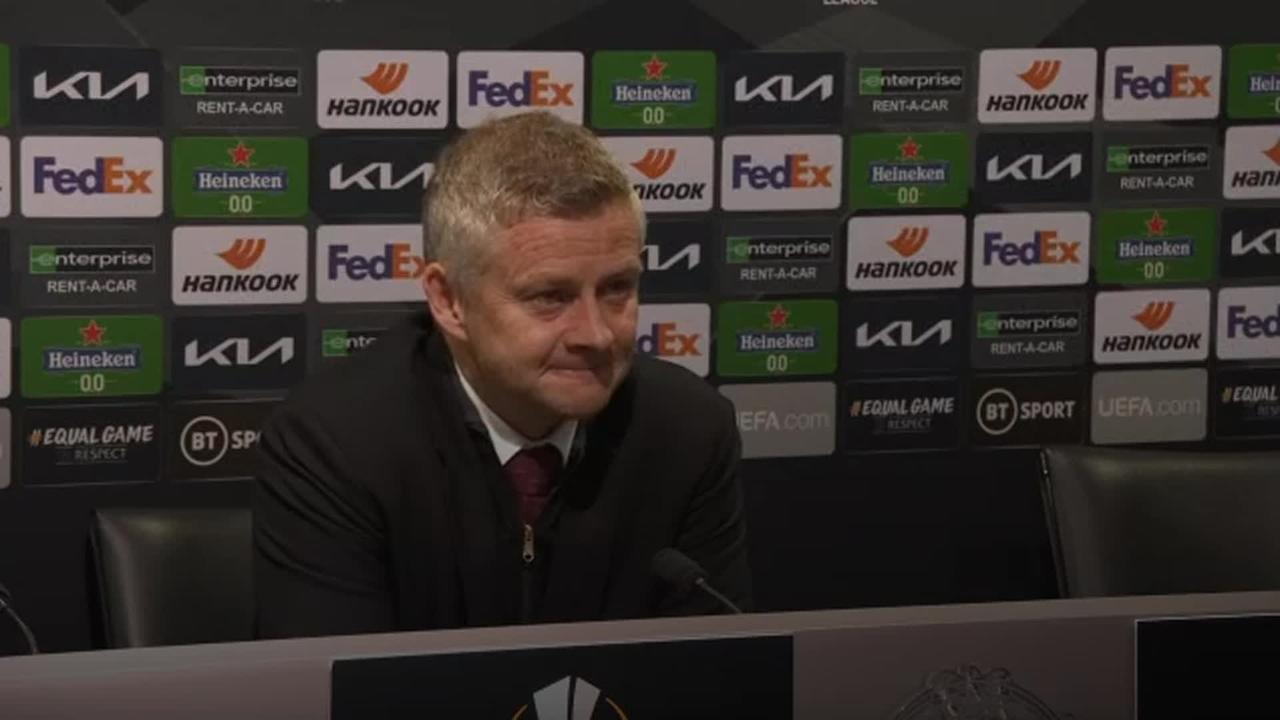Ole Gunnar Solskjaer wants to end season on a high in Europa League