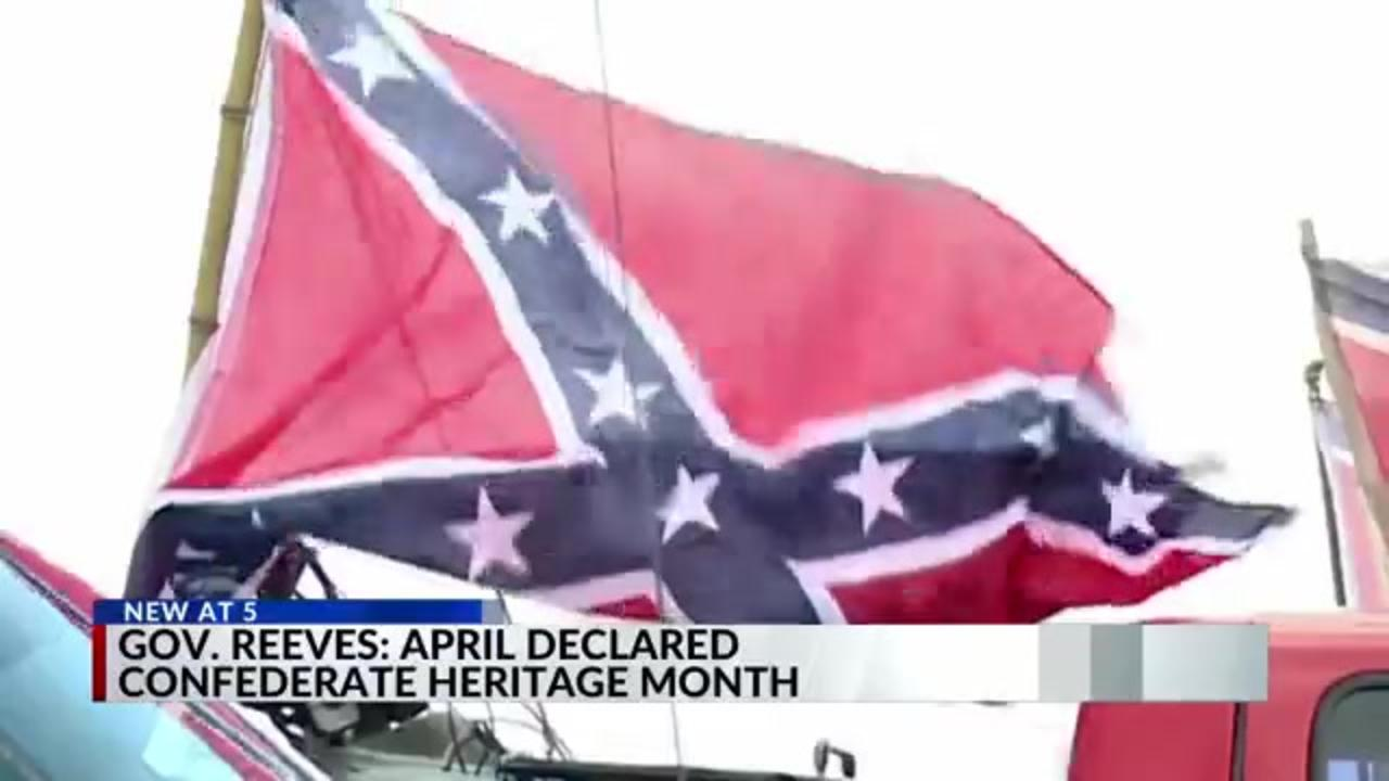 Mississippi declares April 'Confederate Heritage Month,' sparking debate